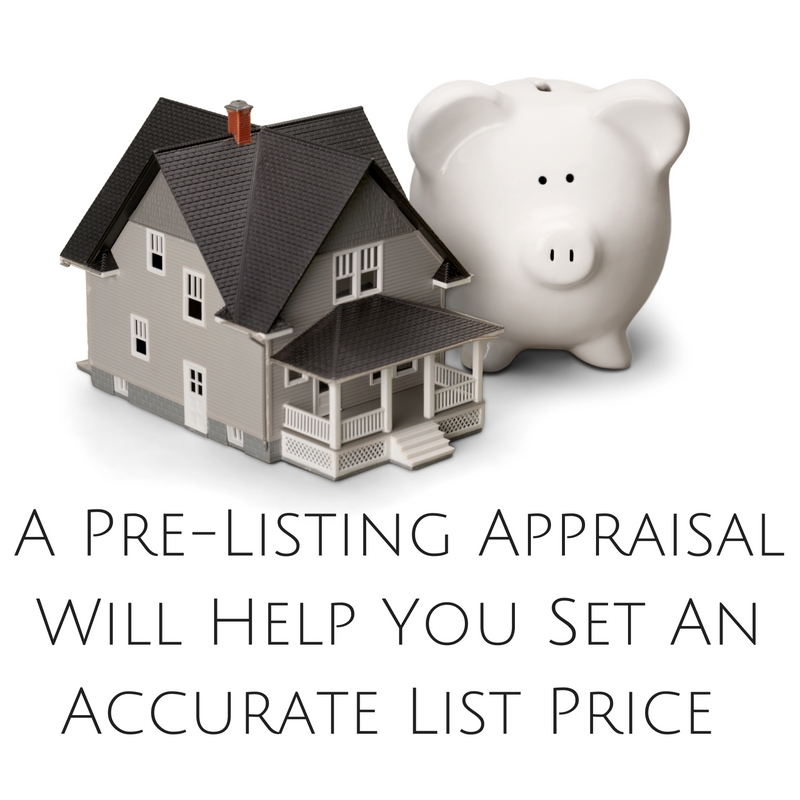 Birmingham pre-listing appraisals will help you set an accurate list price